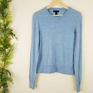 J. Crew Blue Merino Wool Pullover Sweater XL